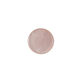 Polaris cabochon plat 12mm Mosso shiny Light vintage rose