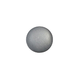 Polaris cabochon soft tone 12mm matt Silver grey