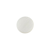 Polaris cabochon soft tone 12mm matt Off white