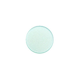12 mm platte cabochon Super Polaris Light aqua green