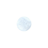 12 mm platte cabochon Polaris Elements Mosso shiny Powder blue