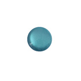 12 mm classic cabochon Polaris Elements soft tone shiny Mosaic blue