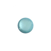 12 mm classic cabochon Polaris Elements soft tone shiny Lagoon blue