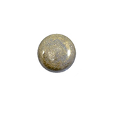 Plaksteen cabochon camee Polaris Stardust 12mm Grey