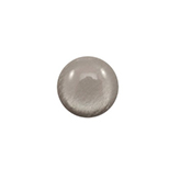 12 mm classic cabochon Polaris Elements soft tone shiny Warm grey