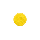 Plaksteen cabochon camee Polaris plat 12mm Lively Empire Yellow