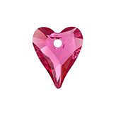 Swarovski Wild Heart 6240 12mm Indian Pink
