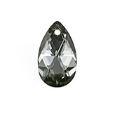 Swarovski Pear 6106 22mm Crystal Silver Night