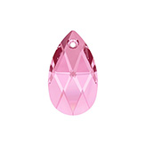 Swarovski Pear 6106 16mm Light Rose