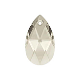 Swarovski Pear 6106 22mm Crystal silver shade