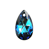 Swarovski Pear 6106 16mm Crystal Bermuda Blue