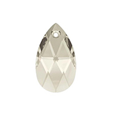 Swarovski Pear 6106 16mm Crystal Silver Shade