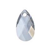 Swarovski Pear 6106 16mm Crystal Blue Shade