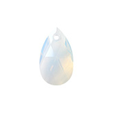 Swarovski Pear 6106 28mm White opal