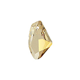 Swarovski Galactic Vertical 6656 19mm Crystal Golden Shadow