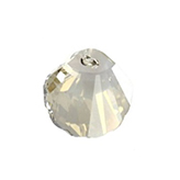Swarovski Shell 6723 16mm Crystal Silver Shade