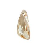 Swarovski Wing 6690 27mm Crystal Golden Shadow