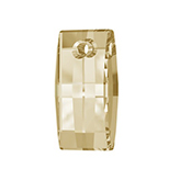 Swarovski hanger 6696 Urban Crystal Golden Shadow 20mm