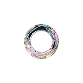Swarovski 4139 Cosmic Ring 20mm Crystal Vitrail Light