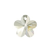 Swarovski Flower 6744 12mm Crystal Silver Shade