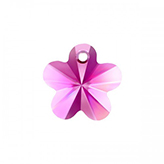 Swarovski Flower 6744 12mm Fuchsia