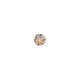 Swarovski puntsteen 1028 PP24 Crystal Golden Shadow