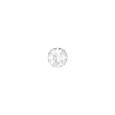 Swarovski puntsteen 1088 SS24 Crystal Powder Grey