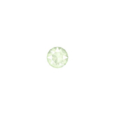 Swarovski Xirius Chaton 1088 SS29 Crystal Powder Green (unfoiled)