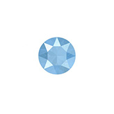 Swarovski SS 29 puntsteen (6.2 mm)  Crystal Summer Blue