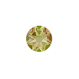 Swarovski 2088 SS34 flatback Xirius Rose Crystal Luminous Green