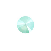 Swarovski Rivoli 1122 12mm Crystal mint green
