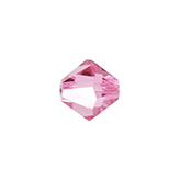 Swarovski Bicone 5301 6mm Rose