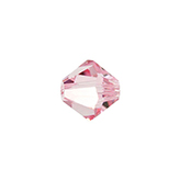 Swarovski Bicone 5301 4mm Light Rose