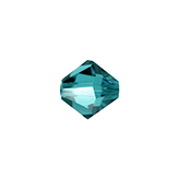 Swarovski Bicone 5301 4mm Blue Zircon