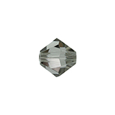 Swarovski Bicone 5301 4mm Black Diamond