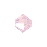 Swarovski Bicone 5301 4mm Rose Water Opal