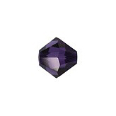 Swarovski Bicone 5328 4mm Purple Velvet