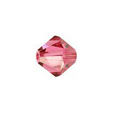 Swarovski Bicone 5328 4mm Indian Pink