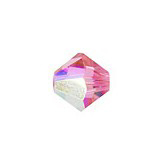 Swarovski Bicone 5328 4mm Rose AB