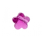 Swarovski Flower 5744 8mm Fuchsia