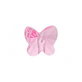 Swarovski Butterfly 5754 8mm Light Rose