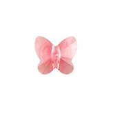Swarovski Butterfly 5754 8mm Rose Peach