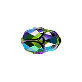 Swarovski Scarab Bead 5728 12mm Crystal Scarabaeus Green