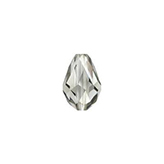Swarovski Teardrop 5500 9x6mm Black Diamond