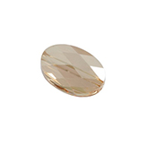 Swarovski Oval 5050 14x10mm Crystal Golden Shadow