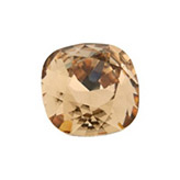 Swarovski puntsteen 4470 Square 10mm Lt Colorado Topaz