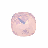 Swarovski puntsteen 4470 Square 10mm Rose Water Opal