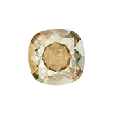 Swarovski puntsteen 4470 Square 10mm Crystal Golden Shadow