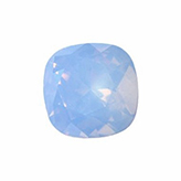 Swarovski puntsteen 4470 Square 10mm Air Blue Opal
