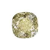 Swarovski puntsteen 4470 Square 10mm Crystal Gold Patina